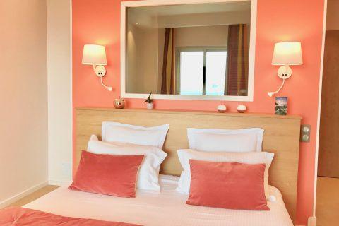 Hôtel Outre-Mer (Villa Le Couchant) - Fenêtre mer Chambre deluxe Soleil couchant à Villers