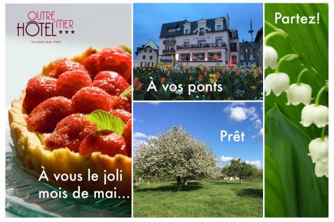Ponts de mai à l'Hôtel Outre-Mer (Villa Le Couchant)