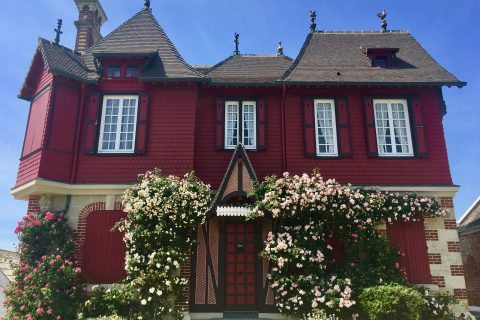 Les villas balnéaires Belle Epoque de Villers sur Mer