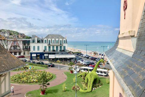 Hôtel Outre-Mer (Villa Le couchant) - Vue mer Suite familiale Coin de plage villersoise