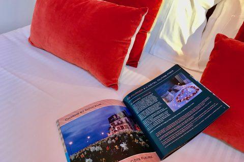 Hôtel Outre-Mer (Villa Le Couchant) - Livret d'accueil Chambre cosy Coin de verger en Normandie