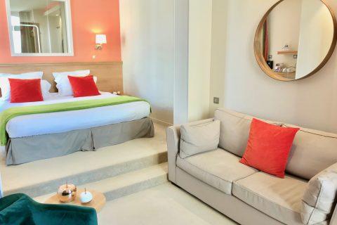Hôtel Outre-Mer (Villa Le Couchant) - Suite Promenade sur les planches de Deauville