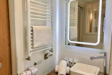 Hôtel Outre-Mer (Villa Le Couchant) - Salle d'eau Suite Promenade sur les planches de Deauville