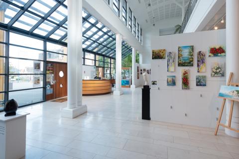 Exposition de peintures et de sculptures au Villare à Villers sur Mer
