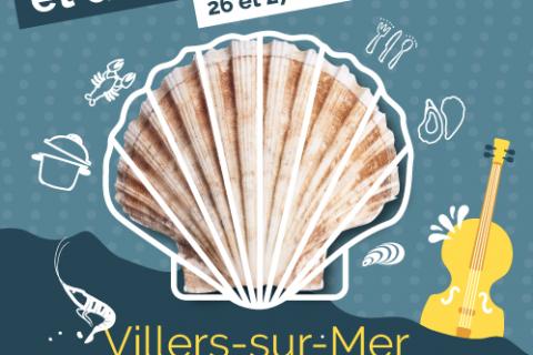 L'hôtel Outre-Mer (Villa Le Couchant) : fête de la Coquille Saint Jacques et des fruits de mer à Villers-sur-Mer 2019