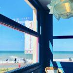 Vue sur la mer depuis l'Hôtel Outre-Mer (Villa Le Couchant)