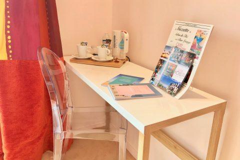 Hotel Outre-Mer (Villa Le Couchant) - Bureau chambre deluxe Soleil couchant à Villers