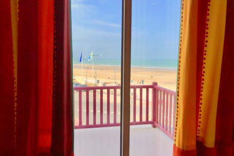 Hotel Outre-Mer (Villa Le Couchant) - Vue mer chambre deluxe Soleil couchant à Villers