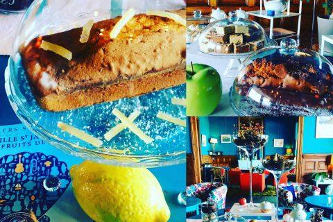 Petit déjeuner normand à l'Hôtel Outre-Mer (Villa Le Couchant): l'Automne à l'hôtel et en Normandie