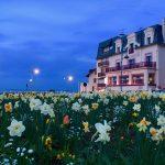 Hotel Outre-Mer (Villa Le Couchant)- Vue de l'extérieur la nuit au Printemps
