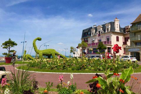 Hotel Outre-Mer (Villa Le Couchant) - Vue de l'extérieur en Eté