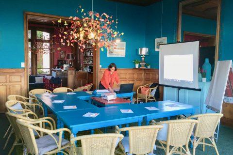 Micro-séminaires et réunion d'affaires à l'Hôtel Outre-Mer (Villa Le Couchant)