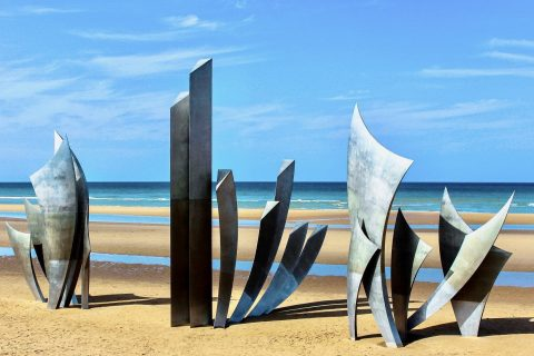 D Day memorial Omaha Beach