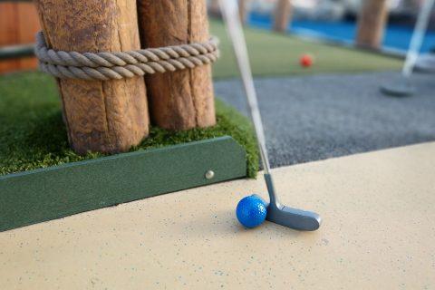 Le mini golf de Villers sur Mer