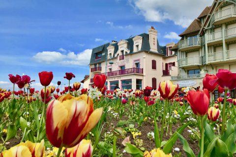 Hotel Outre-Mer (Villa Le Couchant) - Vue de l'extérieur au Printemps